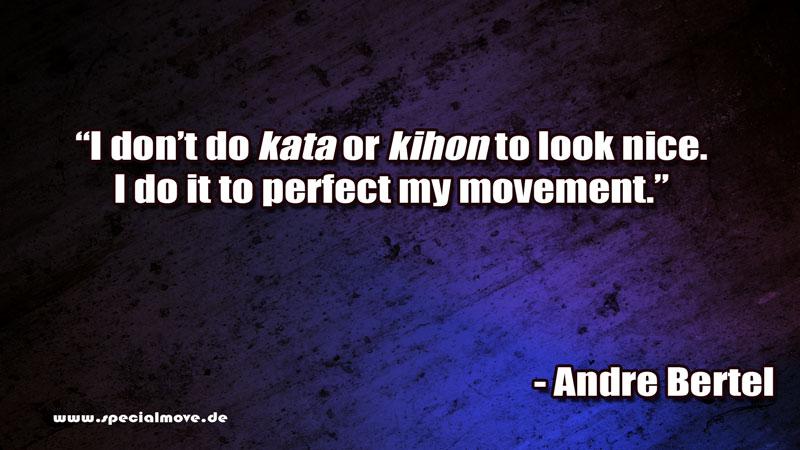 Grund für Kata und Kihon