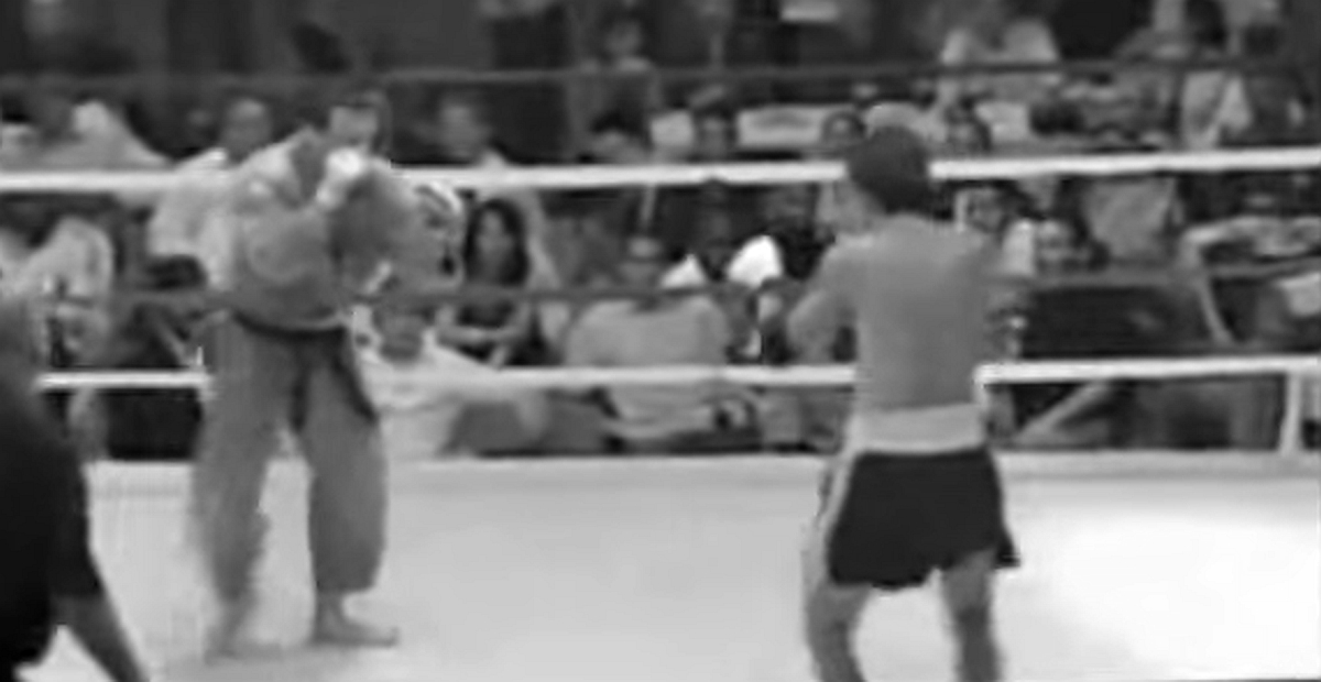 Judo vs. Thai Boxen