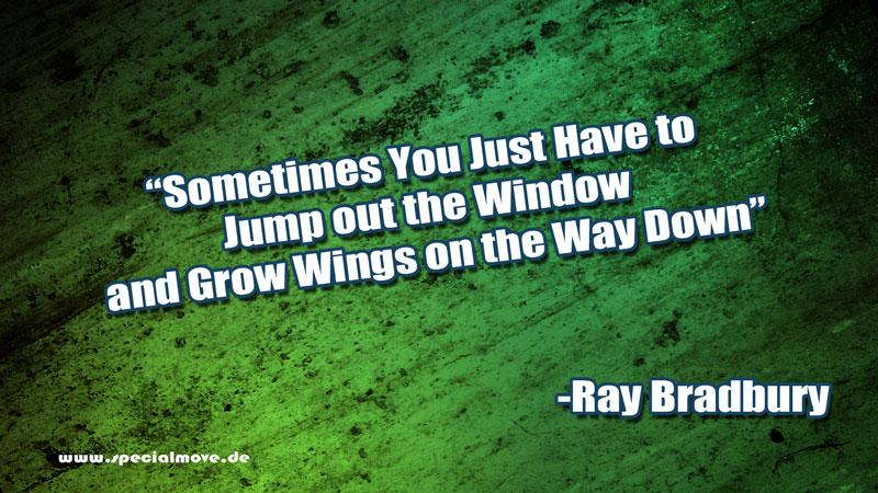Trau Dich – R.I.P. Ray Bradbury