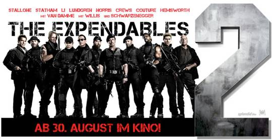 The Expendables 2 – Filmbesprechung