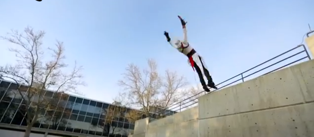 Parkour und Assasins Creed Cosplay