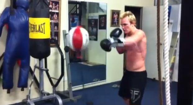 Alleine trainieren: Der Doppelendball