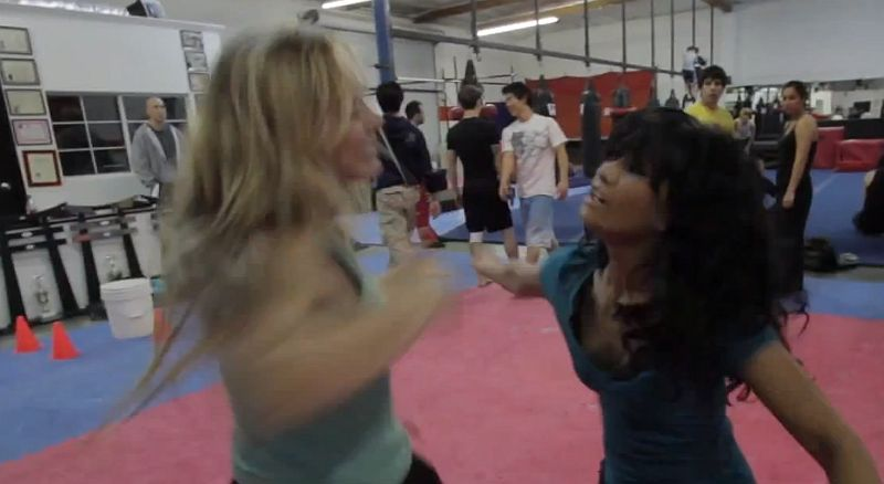 Kampf-Choreografie