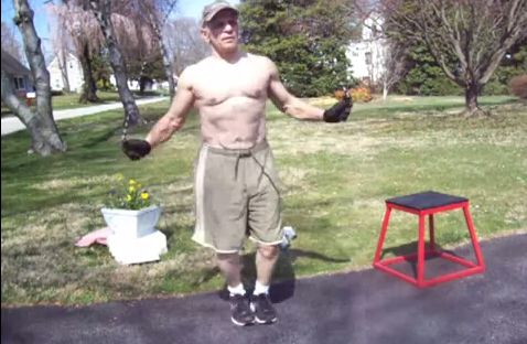 Gutes Workout mit einfachen Mitteln