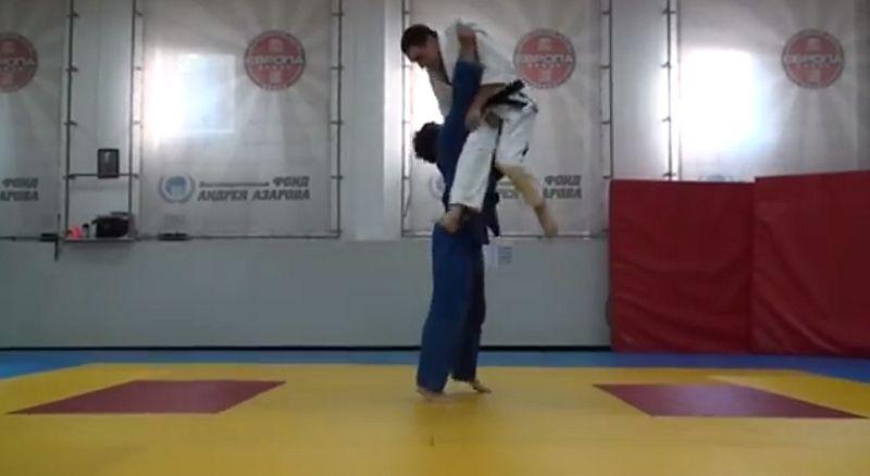 Judo mit etwas Tricking