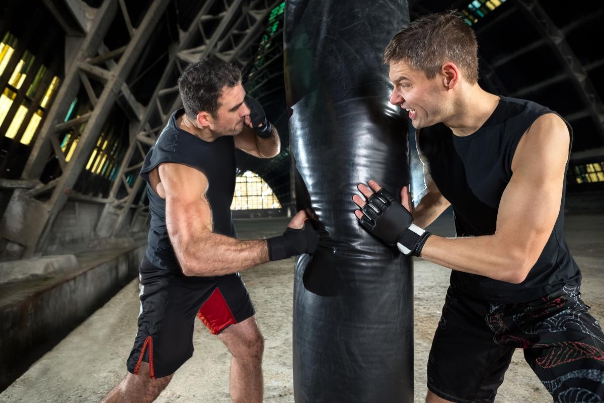 Kampfsport um das Leben zu verbessern