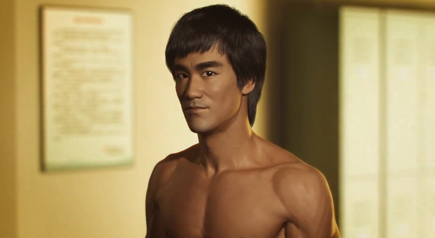 Donnie Yen vs. Bruce Lee – CGI Fan Video