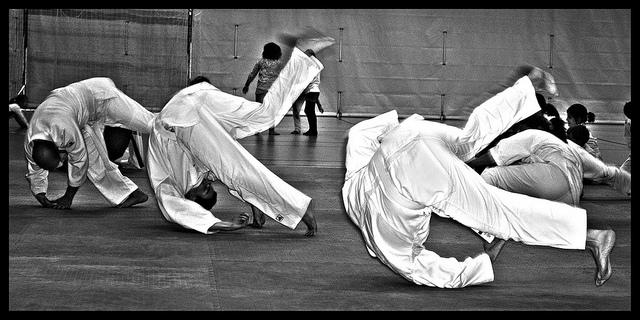 Aikido Fallschule gut erklärt
