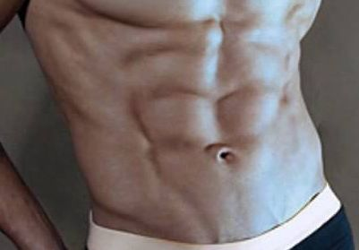 Bauchmuskeln und der Waschbrettbauch