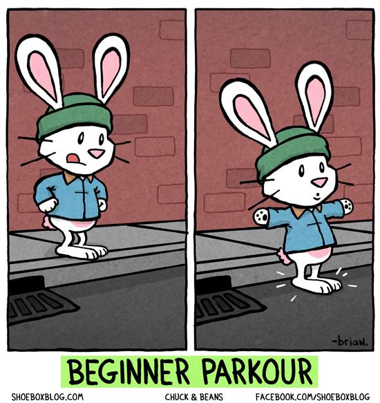 Parkour für Einsteiger