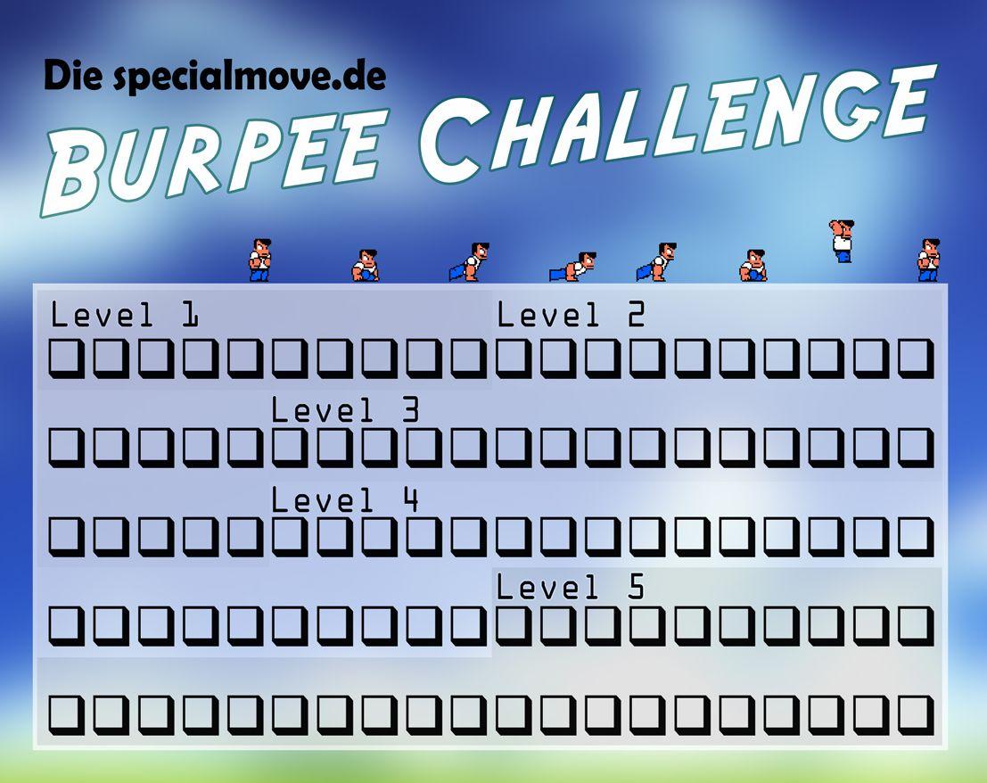 Burpee Challenge – Kannst Du es schaffen?