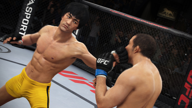 Bruce Lee in der UFC