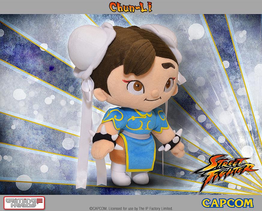 Chun Li Plüshfigur, Quelle: GamingHeads.com