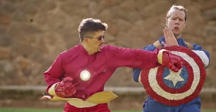 Kung Fu Avengers