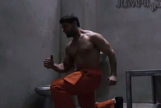 Prison Workout, Superhero Style